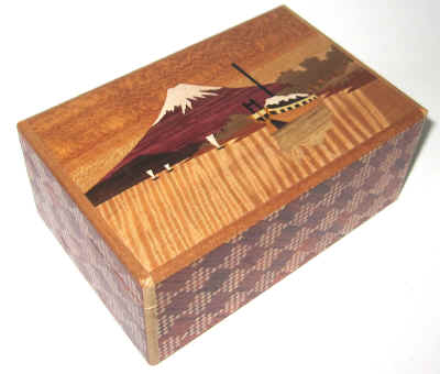 5 Sun 10 Step Japanese Puzzle Box