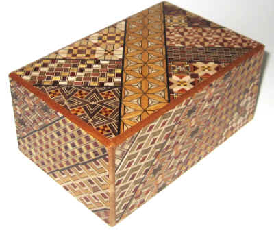 5 Sun 27 Step Japanese Puzzle Box