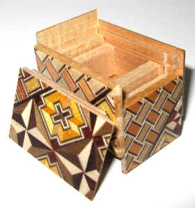 Mame 10 Step Japanese Puzzle Box