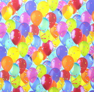 Balloon Gift Wrap Paper