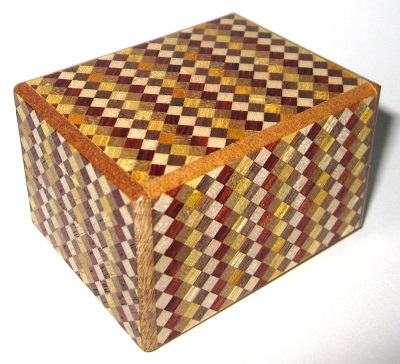 2 Sun 10 Step Japanese Puzzle Box