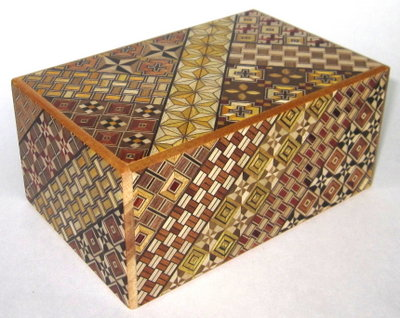 5 Sun 10 Step (with Drawer) Japanese Puzzle Box